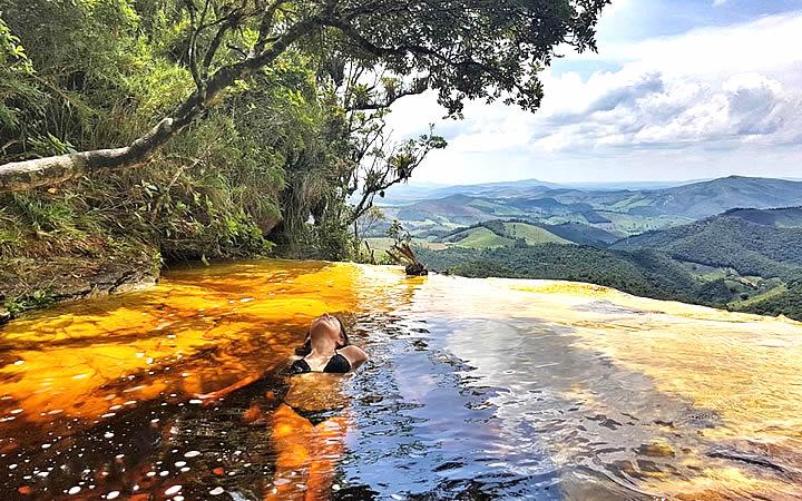 Cachoeira Janela do Céu em Ibitipoca MG