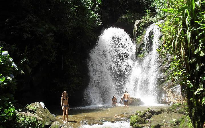Cachoeira Toca da Onça em Lumiar