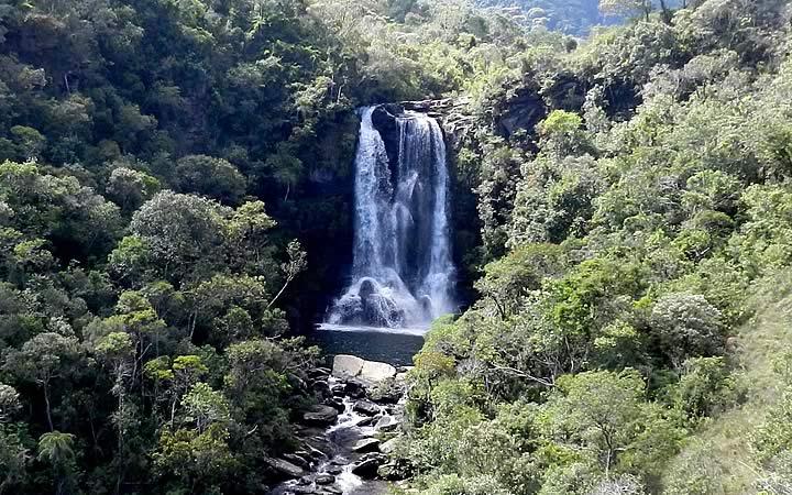 Cachoeira dos Garcias em Aiuruoca