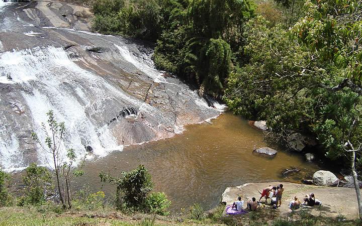 Cachoeira em Gonçalves
