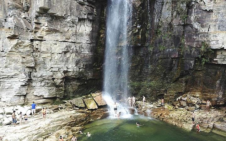 Cachoeira na Serra da Canastra