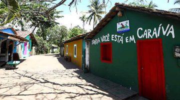 Vila de Casas em Caraíva