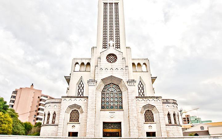 Fachada da Igreja de São Pelegrino