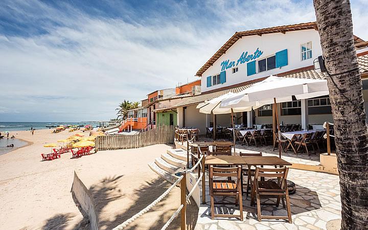 Fachada do Restaurante Mar Aberto