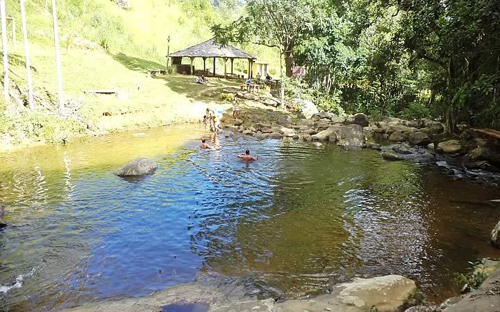 Lagoa em Fervedouro Minas Gerais