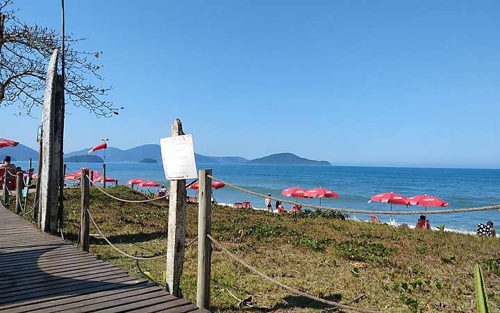 Mar da Praia da Tabatinga