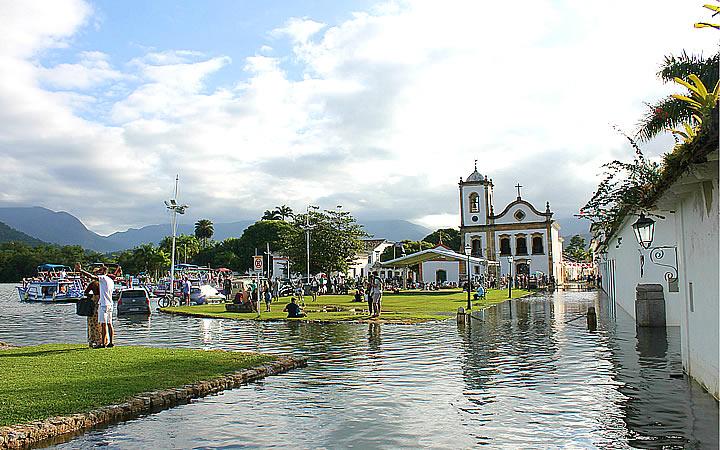 Igreja matriz de Paraty