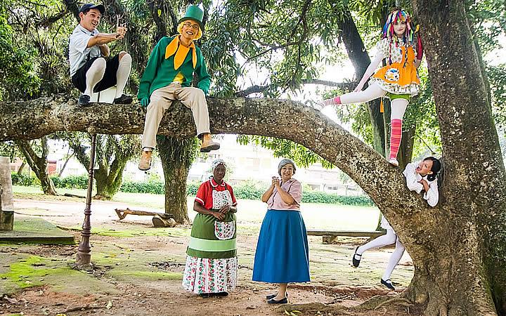 Personagens do Sítio do Pica pau amarelo - Museu Monteiro Lobato