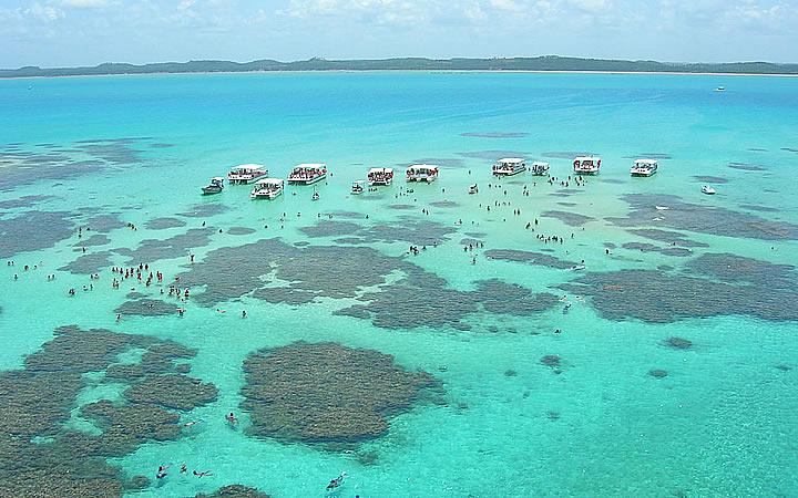 Piscina natural em Maragogi – Alagoas