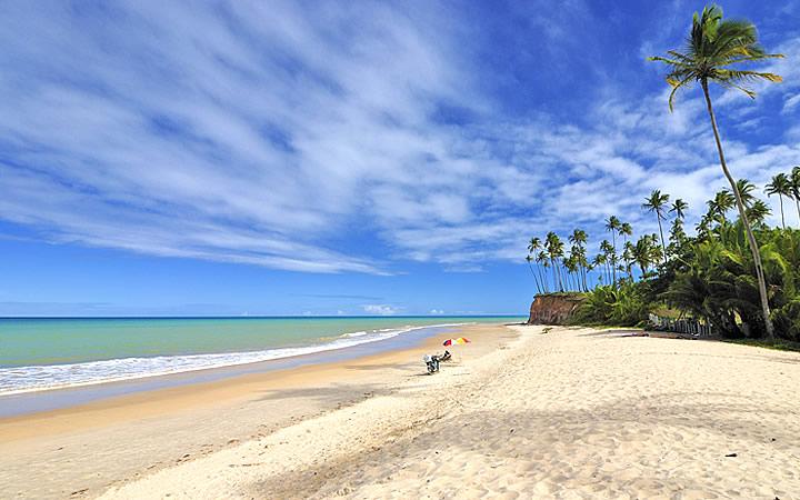 Praia Barra do Cahy em Cumutuxatiba