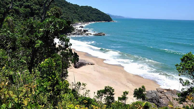 Praia Brava em Caraguatatuba
