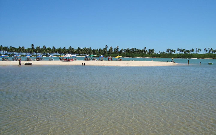 Praia da Barra do Jacuípe