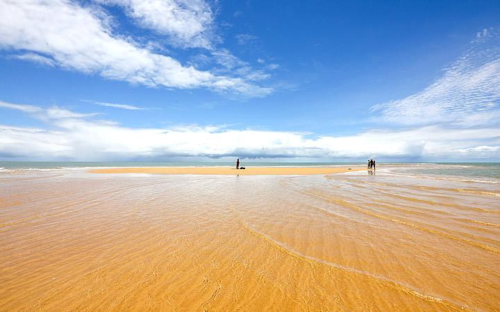 Praia da Ponta de Corumbau