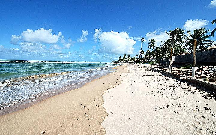Praia de Jauá em Arembepe