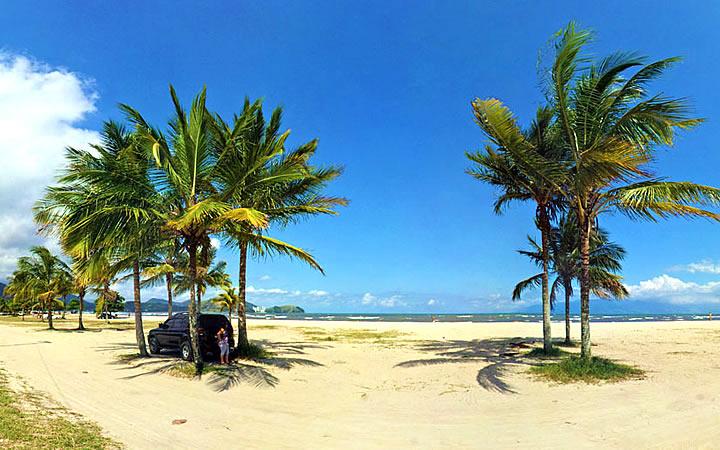 Praia do Indaiá em Caraguatatuba