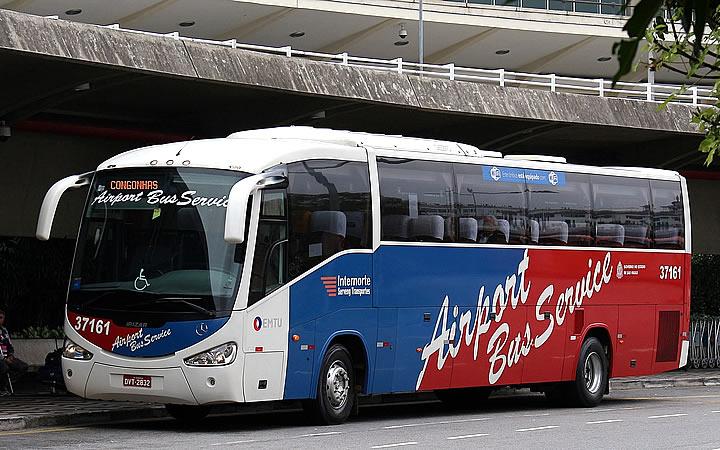 Ônibus do Airport bus Service em São Paulo