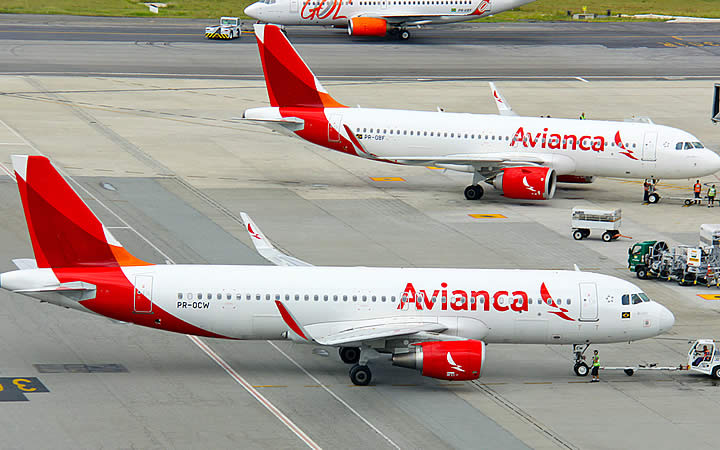 Aeronaves da Avianca