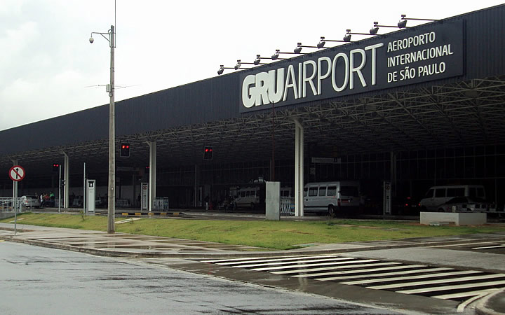 Aeroporto Internacional de Guarulhos - Aeroportos de SP