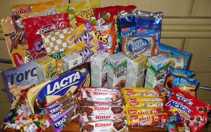 Alimentos para viagem