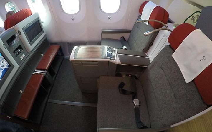 Assentos do avião
