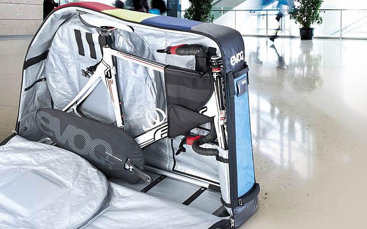 Bicicleta para bagagem no avião