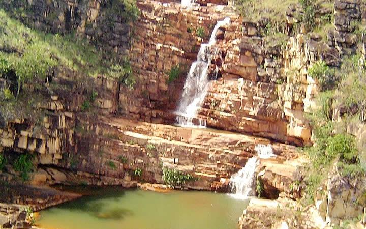 Cachoeira Sete quedas em Uiramutã