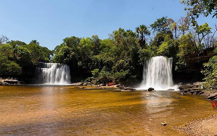 Cachoeira de Itapecuru em Carolina