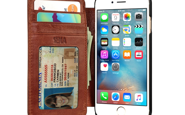 Capa de Iphone para guardar dinheiro