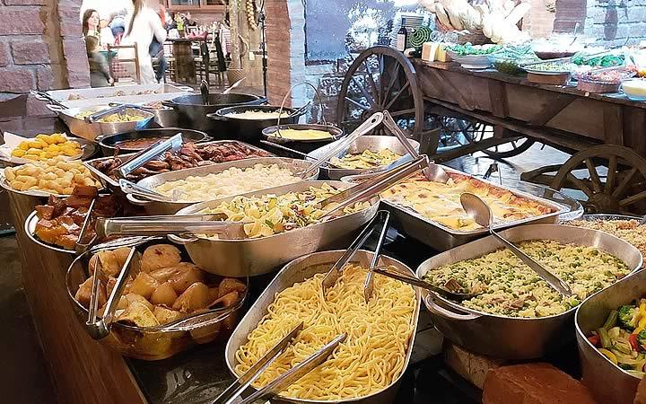 Comida Italiana - Linha Bela - Gramado
