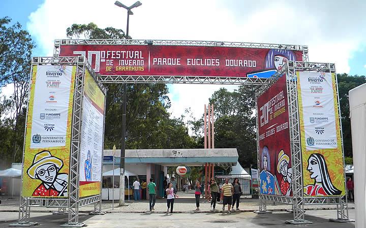Festival de inverno entrada