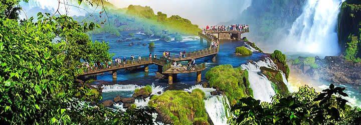 Parque Nacional do Iguaçu - Patrimônios naturais no Brasil