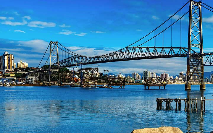 Ponte suspensa de Florianópolis