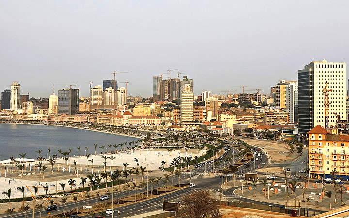 Prédios em Angola