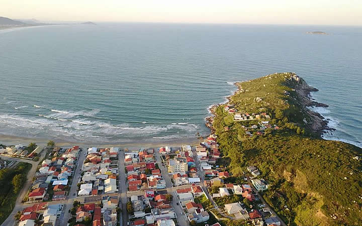 Praia de Itapirubá em Imbituba