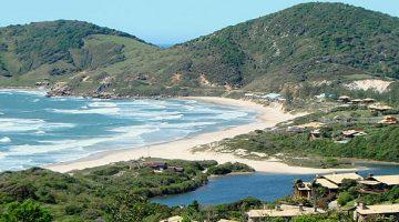 Praia do Ibiraquera em Imbituba