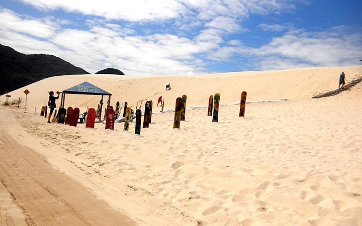 Sandboard - Praia da Ribanceira