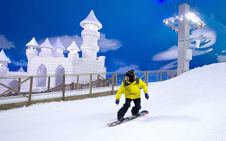 Simulador de Esqui Snowland