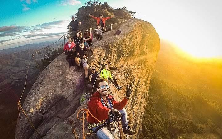 Aventureiros na Pedra do Baú