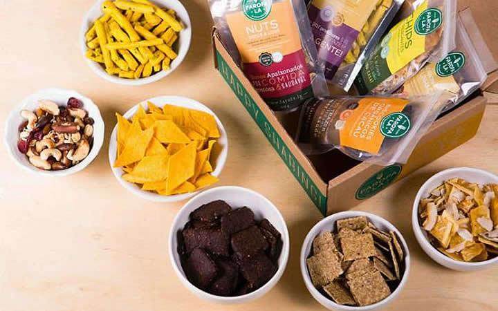 Biscoitos e snacks