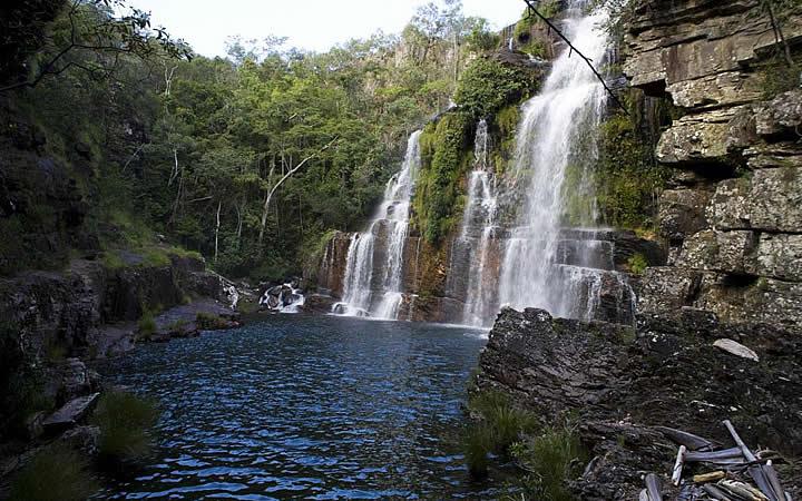 Cachoeira em Alto Paraíso