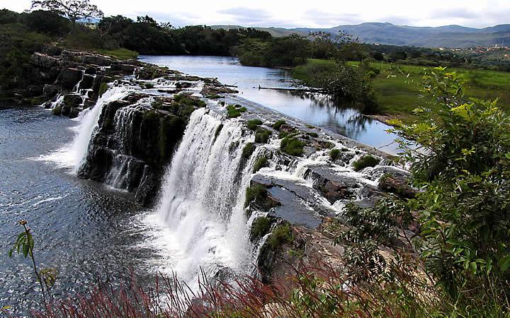 Cachoeira na Serra do Cipó