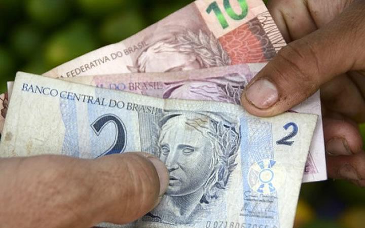 Dinheiro - Cédulas pequenas