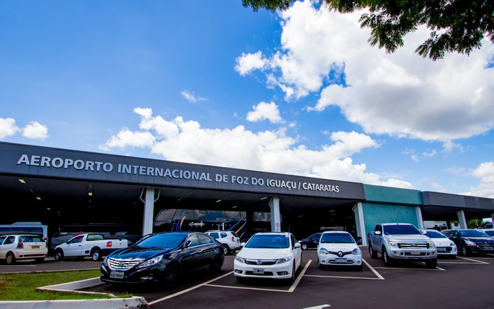 Estacionamento do Aeroporto de Foz do Iguaçu