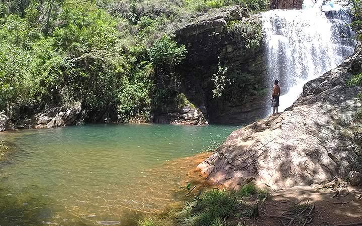 Homem na Cachoeira