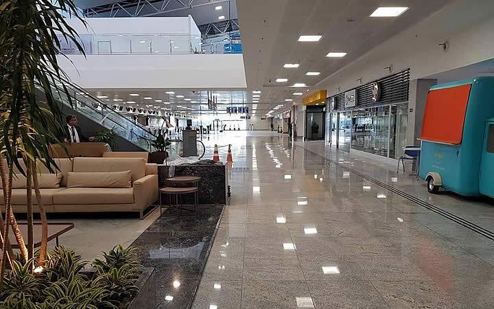 Interior do Aeroporto VIX