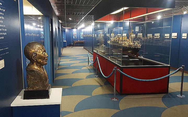 Interior do Museu Histórico da Imigração Japonesa no Brasil