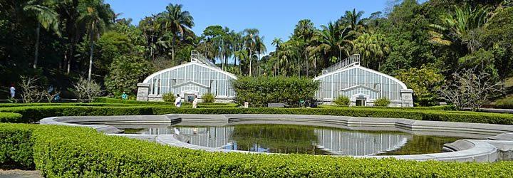 Jardim Botânico em São Paulo