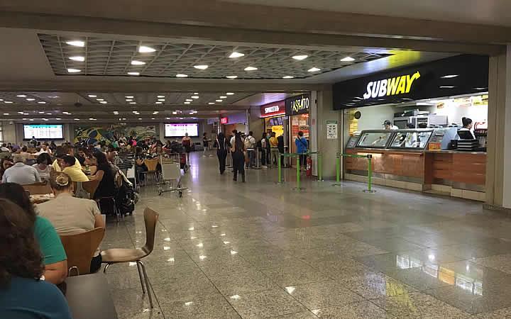 Lojas no Aeroporto Santos Dumont