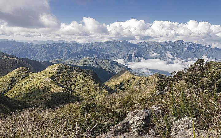 Montanhas da Serra da Mantiqueira