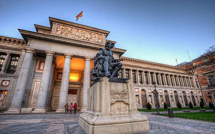 Museu do Prado em Madrid